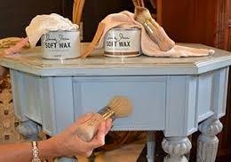 atelier peinture à la craie sur meuble Annie Sloan